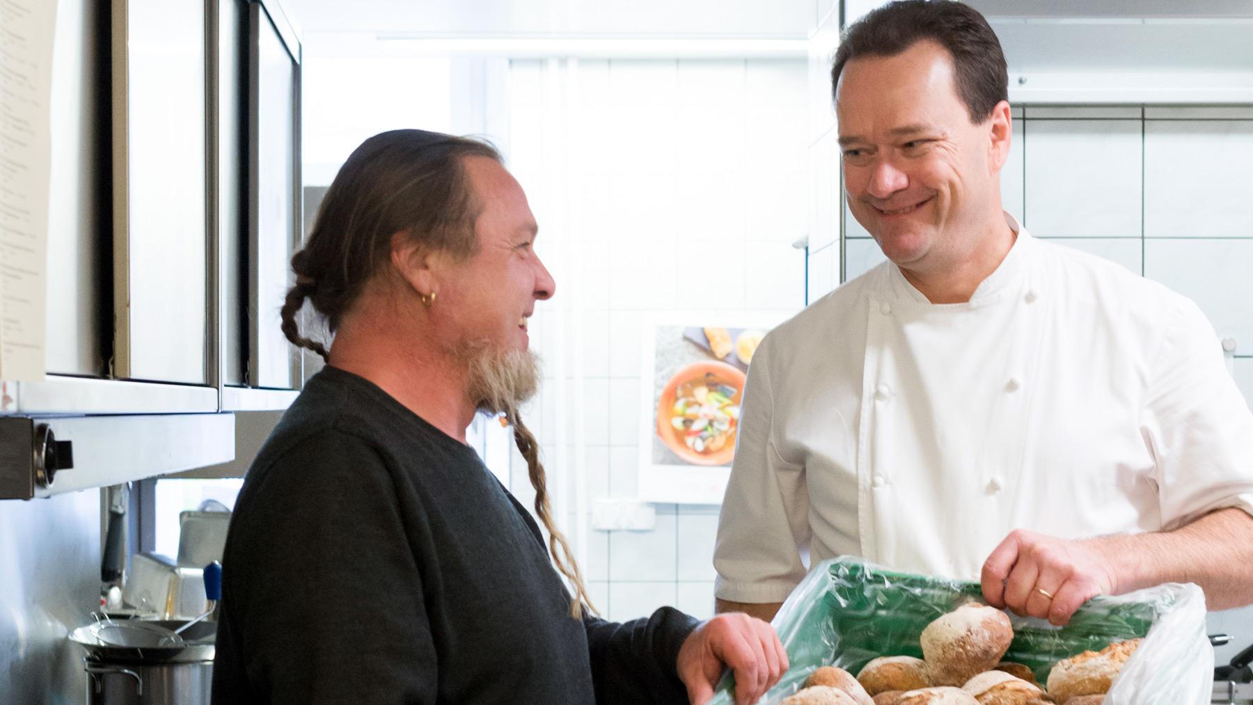 Ein b cker und ein koch brotkultur in der gastronomie for Koch mit bart